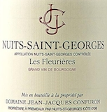 Domaine Jean-Jacques Confuron Nuits-Saint-Georges Les Fleurières label