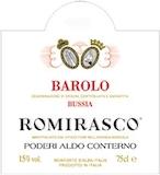 Poderi Aldo Conterno Barolo Romirasco label