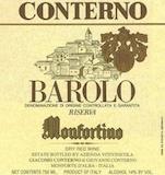 Giacomo Conterno Barolo Monfortino Riserva label