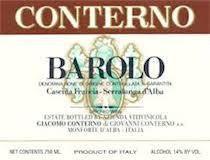 Giacomo Conterno Barolo (Cascina) Francia label