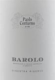 Paolo Conterno Barolo Ginestra Riserva label