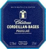 Château Cordeillan Bages  label