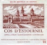 Château Cos d'Estournel  Deuxième Cru label