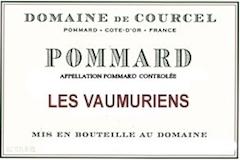 Domaine de Courcel Pommard Les Vaumuriens label