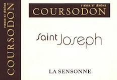 Domaine Coursodon Saint-Joseph La Sensonne label
