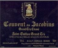 Couvent des Jacobins  Grand Cru Classé label