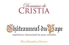Domaine de Cristia Châteauneuf-du-Pape  label