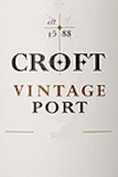 Croft Porto  Vintage Port label