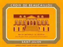 Château Ducru-Beaucaillou La Croix de Beaucaillou label