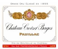 Château Croizet-Bages  Cinquième Cru label