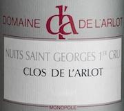 Domaine de l'Arlot Nuits-Saint-Georges Premier Cru Clos de l'Arlot label