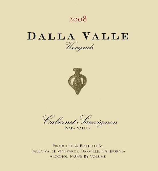 Dalla Valle Cabernet Sauvignon label