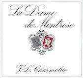 Château Montrose La Dame de Montrose label