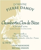 Domaine Pierre Damoy Chambertin Clos de Bèze Grand Cru  label