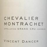 Vincent Dancer Chevalier-Montrachet Grand Cru  label