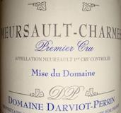 Domaine Darviot-Perrin Meursault Les Tessons label