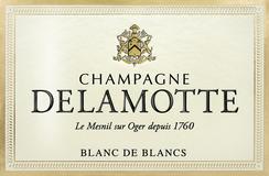 Delamotte Blanc de Blancs label