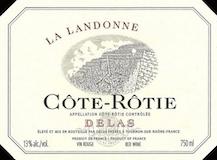 Delas Frères Côte Rôtie La Landonne label