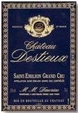 Château Destieux  Grand Cru Classé label