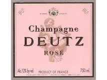 Deutz Rosé label
