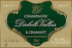 Diebolt-Vallois Blanc de Blancs label
