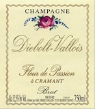 Diebolt-Vallois Fleur de Passion Grand Cru label