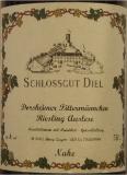 Schlossgut Diel Dorsheimer Pittermännchen Riesling Auslese label