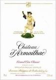 Château d'Armailhac  Cinquième Cru label