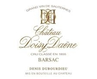 Château Doisy-Daëne  Deuxième Cru label