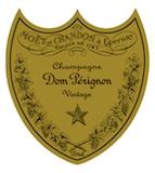 Dom Pérignon Vintage Brut label