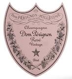 Dom Pérignon Rosé label