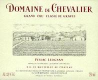 Domaine de Chevalier  Cru Classé de Graves label