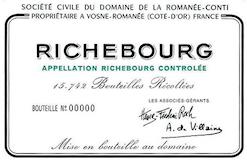 Domaine de la Romanée-Conti Richebourg Grand Cru  label