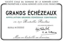 Domaine de la Romanée-Conti Grands Echezeaux Grand Cru  label