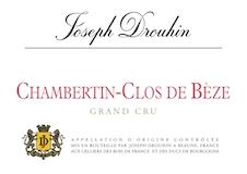 Maison Joseph Drouhin Chambertin Clos de Bèze Grand Cru  label