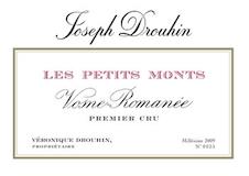 Maison Joseph Drouhin Vosne-Romanée Premier Cru Les Petits Monts label