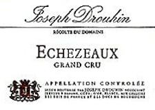 Maison Joseph Drouhin Echezeaux Grand Cru  label