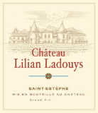 Château Lilian Ladouys  Cru Bourgeois label