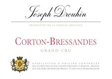 Maison Joseph Drouhin Corton Grand Cru Bressandes label