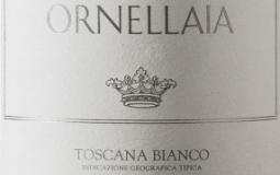 Ornellaia Bianco label