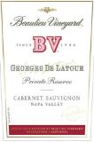 Beaulieu Vineyard  Georges de Latour Private Reserve label
