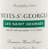 Domaine Henri Gouges Nuits-Saint-Georges Premier Cru Les Saint-Georges label