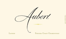 Aubert Wines Lauren Vineyard Chardonnay label