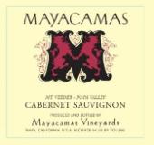 Mayacamas Cabernet Sauvignon label
