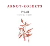 Arnot-Roberts Syrah label