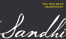 Sandhi Rita's Crown Chardonnay label
