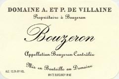 Domaine A. & P. de Villaine Bouzeron  label