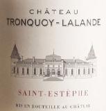 Château  Tronquoy-Lalande  Cru Bourgeois label