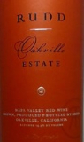 Rudd Oakville Estate Red label