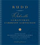 Rudd Samantha's Cabernet Sauvignon label